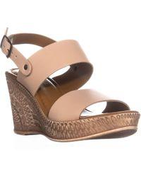 Bella Vita - Coritaly Engraved Wedge Sandals - Lyst