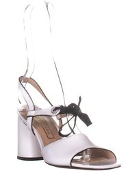 Marc Jacobs Wilde Mary Jane Sandals - White