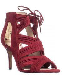 Nine West - Galaxy Lace-up Dress Sandals - Lyst