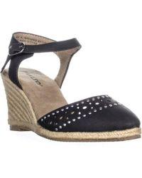 Rialto - Constance Espadrilles Ankle Strap Sandals - Lyst