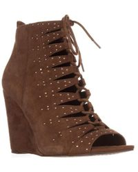 Jessica Simpson - Barlett Strappy Studded Wedge Court Shoes - Lyst