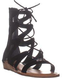 Carlos By Carlos Santana Toya Gladiator Sandals - Black
