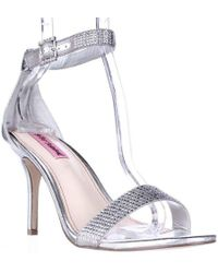Betsey Johnson - Brodway Ankle Strap Dress Sandals - Lyst
