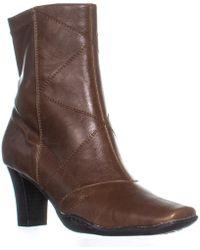Aerosoles - Cintercity Square Toe Side Zip Boots - Lyst
