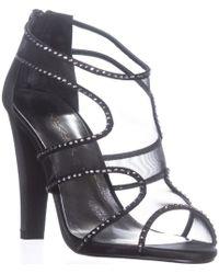 8cd2d3615dd Caparros - Desire Heeled Rhinestone Gladiator Sandals - Lyst