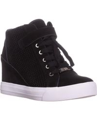 51f87a6eb97 Guess - Decia Hiden-wedge Fashion Sneakers - Lyst