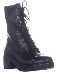 17e77d13caa Michael Kors - Michael Cody Combat Boots - Lyst