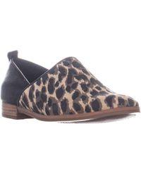 Lucca Lane - Tabby Block Heel Slip On Loafers - Lyst