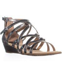 fd4ed4f7c568 Lyst - Madden Girl Oran Tie Up Gladiator Flat Sandals - Save 12%