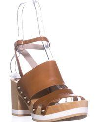 Furla - Gina Platform Clog Sandals - Lyst