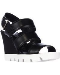 Kalliste | Kalliste 5253 Lug Sole Strappy Wedge Sandals | Lyst