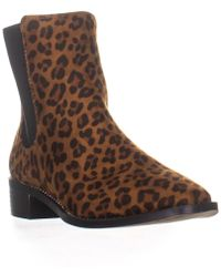 Bebe - Midolo Zip Up Block Up Ankle Boots - Lyst