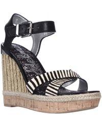 Sam Edelman Clay Wedge Ankle Strap Sandals - Multicolour