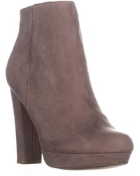 Report Lyle Closed Toe Ankle Fashion Boots - Brown