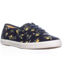 8a9940baa6e81a Lyst - Keds Womens Champion Celestial Canvas Low Top Lace Up Fashion ...