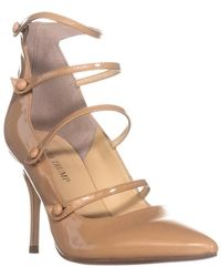 Ivanka Trump Dritz Strappy Court Shoes - Natural