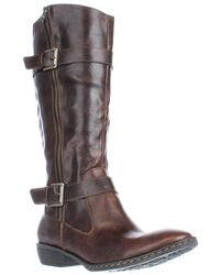 Born - Lampards Knee High Harness Boots - Lyst
