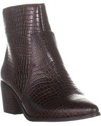 Tahari Raffi Pointed-toe Ankle Boots - Brown