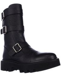 Kalliste - 5113 Double Strap Ankle Boots, Blue Grey - Lyst