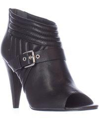 Sigerson Morrison Myla Open-toe Ankle Boots - Black
