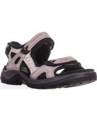 Ecco - Yucatan Sport Sandals - Lyst