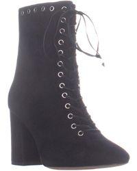 1d56adf544e04 COACH - Dean Lace Up Mid Calf Boots - Lyst