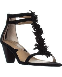 Adrienne Vittadini - Patino Heeled Sandals - Lyst
