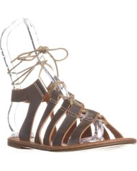Wanted - Ghillie Flat Lace-up Sandals - Lyst