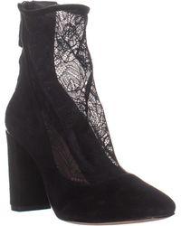 Pour La Victoire Risa Square Toe Pump Heels - Black