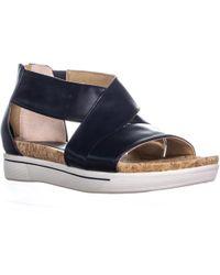 Adrienne Vittadini Cheers Wedge Sandal - Blue