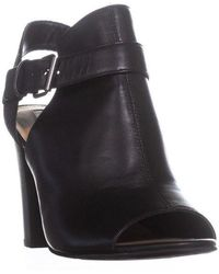 Tahari - Martin Dress Peep Toe Bootie Sandals - Lyst