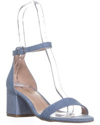 Call It Spring Stangarone Ankle Strap Sandals - Blue