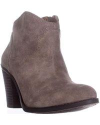 Lucky Brand - Eller Short Western Boots - Lyst