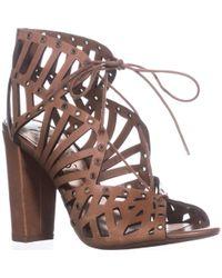Jessica Simpson - Emagine Lace Up Sandals - Lyst