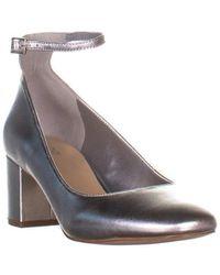 671af8965c9 ALDO - Clarisse Ankle-strap Block Heel Pumps - Lyst