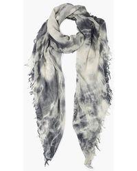 Chan Luu Brushed Nickel Tie Dye Cashmere Silk Scarf - Multicolor
