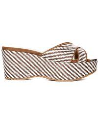Jimmy Choo Prima Wedge Sandal - Multicolor