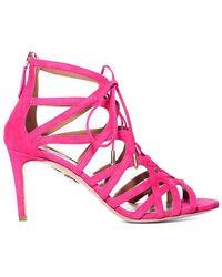 Aquazzura - Ivy Sandal Paradise Pink - Lyst