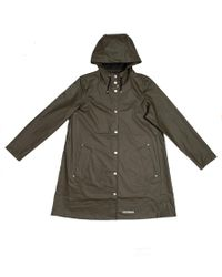 Stutterheim Green Mosebacke Lw Raincoat