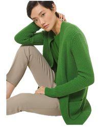 Michael Kors Cashmere Cardigan - Green
