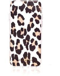 best sneakers f4490 92fd2 Lyst - Wildflower Leopard Iphone 6/7/8 Case - in Red