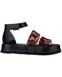 Melissa Model Platform Sandal - Black