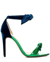 Alexandre Birman Bi-material Clarita - Green