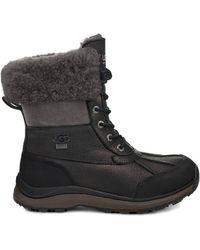 7de9c0875a5 UGG Adirondack Iii Quilt Boot in Black - Lyst