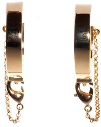 Eddie Borgo Safety Chain Earring - Metallic