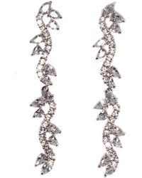 Fallon - Vine Drop Earrings - Lyst