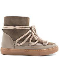 Inuikii - Classic Sneaker Taupe - Lyst