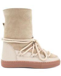 Inuikii Classic Sneaker Beige High - Natural