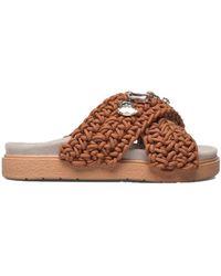 Inuikii - Woven Stones Sandal - Brown - Lyst