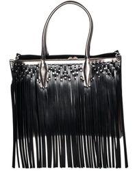 Lanvin - Medium Shopper Bag Fringe - Lyst